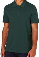 Warrior Wear Classic Men's Polo Shirt Work Wear Vert Forêt entièrement neuf sous emballage Taille XL