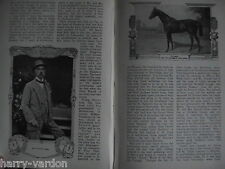 Gilpin Clarehaven Stables Newmarket Racehorse Trainer Horseracing Article 1910