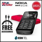 Nokia Condition Asha 301 - Black (Unlocked) Mobile Phone + 12 M Warranty