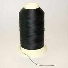 Polyester Thread, Bonded, Thread-4 oz. Spool, Black - Size DB-92 T-90
