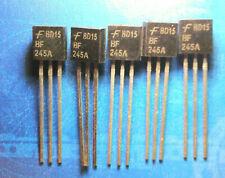 4- 5St. x BF245A/B/C  N-Channel Feldefekttransistor (JFET)  RoHS konform.  TO-92