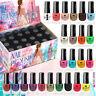 24 Nagellack Set 24 Verschiedenen Farben 5 ml Perfekte Geschenk (Set A)