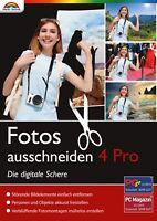 Fotos ausschneiden 4.0 PRO - Die digitale Schere - Download Version - Windows