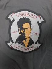 Mens T-Shirt 22MEU Marine Expeditionary Unit DET Charlie Charlie Sheen SzL