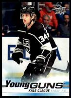 2019-20 UD SP Authentic  Update Young Guns #525 Kale Clague RC