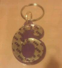 Omega Psi Phi- Line Number Keychain #6