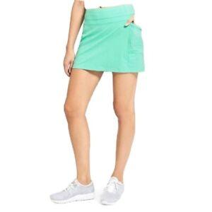ATHLETA Dobby Be Free Skort Mint Green Size S
