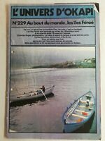 N64 Rivista Universo Okapi N° 229 Au Punta Del Monde, I Isole Faroe, Oceano