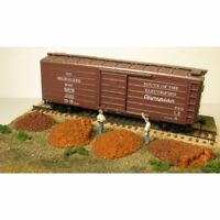 MONROE MODELS 2107 HO Tie Plate Pile 4 Pack Painted Resin Railroad FREE SHIP
