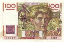 05 France / Frankreich P128b 100 Francs 1949