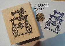 """P7 Sewing machine#2 1.5x2""""  rubber stamp NEW"""