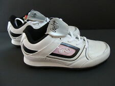 New Rawlings Girls Baseball Cleats 12 White Softball Team Color Grip Low Shoes