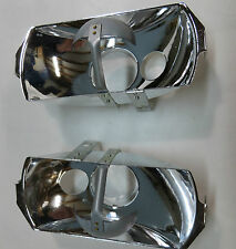 2X Euro style Head light reflector for Mercedes 280se w111 w108 w109 w113