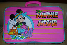 MINNIE MOUSE  SUITCASE  CHILD'S  WALT DISNEY COMPANY  C. LATE 1980'S