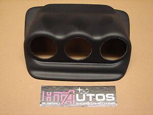 Subaru Impreza 52mm Triple Dash Gauge Pod/Holder, ABS Plastic 01-07. HT Autos UK