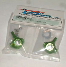 TEAM ASSOCIATED RC18T MT GPM FRONT KNUCKLE HUB ALUMINUM GREEN AR021