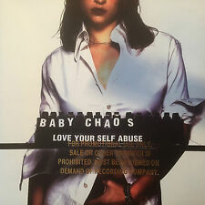 """BABY CHAOS -""""LOVE YOUR SELF ABUSE""""-RARE PROMO CD-KICKING THINGS-HELLO-BRAND NEW"""