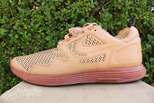 NIKE LUNAR FLOW PRM NSW NRG SZ 9 NATURAL DARK RUSSET 525284 100