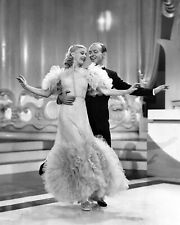 Fred Astaire Ginger Rogers 8x10 Photo Print Artist Musician Collectible (A38)