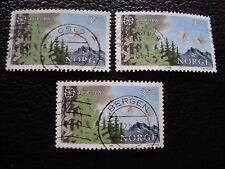 NORVEGE - timbre yvert et tellier n° 903 x3 obl (A30) stamp norway