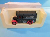 Lledo Promotional Model. Vintage Van with Walkers Crisps Livery.