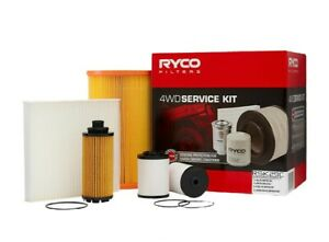 RYCO FILTER SERVICE KIT FOR HOLDEN COLORADO RG 2.8L LWH