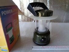 Laterne Campinglampe Power Lamp Batteriebetrieb mit Henkel Camping Lampe Outdoor
