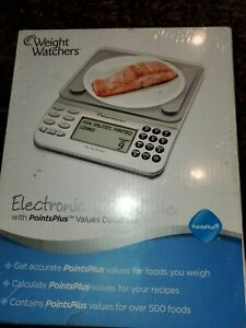 Weight Watchers Electronic Food Scale with PointsPlus Value Database.