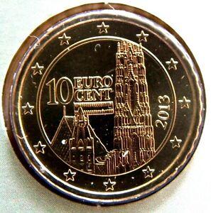 Autriche 2013 10 centimes d'euro Pièce neuve de Coffret BU - Austria Premium