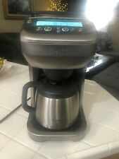 Breville Brushed Stainless Grind Control Coffee Maker BDC650 - works great!