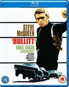 Bullitt [Blu-ray] [1968] [Region Free] [DVD][Region 2]