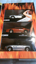 CORGI  JAMES BOND 3 CAR  SET.