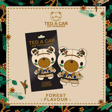 TED A CAR Forest Scented Car & Home Air Freshener TEDACAR Teddy Bear Little Tree