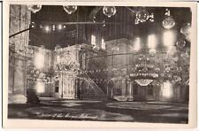 Islamic Mosque Mohamed Ali CAIRO EGYPT 1920 RPPC Lenhert & Landrock Postcard