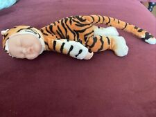 Anne Geddes Cute Baby Tiger Beanie Doll & Collectables 9 Inches 2011
