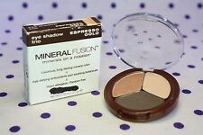 Mineral Fusion Eye Shadow Trio ESPRESSO GOLD #50502 New in Box FAST SHIPPING!