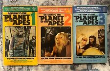 Return to the Planet of the Apes series lot # 1 2 & 3 William Arrow