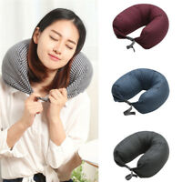Travel Neck Pillow Soft U Shaped Car Airplane Office Head Rest Support Pad
