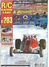 R/C RACING CAR N°203 TAMIYA TRF 201 / HPI CHEVY CAMARO DRIFT / LRP S8 BXR EVO