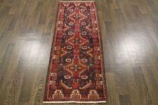 Traditional Vintage Persian Wool  1.9 X 5.2 Handmade Rugs Oriental Rug Carpet