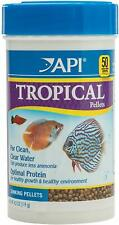 API Tropical Pellets Premium Sinking Food for Tropical Fish 4.2 Ounces