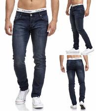 MADDU Herren Jeans Hose Freizeit Clubwear Slim Fit Blau 221 NEU