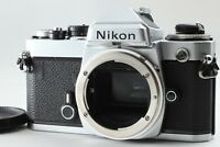 【EXCELLENT+++++】Nikon FE Silver SLR Film Camera Body Only from JAPAN #200