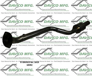 Catalytic Converter-Exact-Fit Right Davico Exc CA fits 06-12 Lexus IS250 2.5L-V6