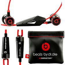 Original Monster iBeats Beats by Dr Dre In-Ear Casque écouteurs --- noir