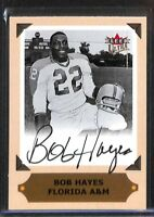 2001 Fleer Ultra College Autograph Bob Hayes
