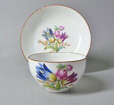 (G1229) Meissen Tasse mit Blumenmalerei, Marcolini Periode 1774-1814