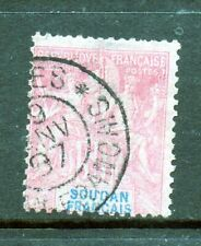 French Sudan Stamp - Scott # 16 - Cancelled