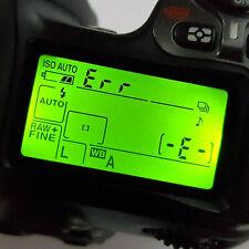 NIKON D80 ERR Reparatur + AF Sensor Justierung / ERROR / Fehlermeldung D 80 Fix