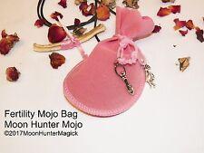 Fertility Mojo Bag Fertility Charm Amulet Fertility Spell Hand Made